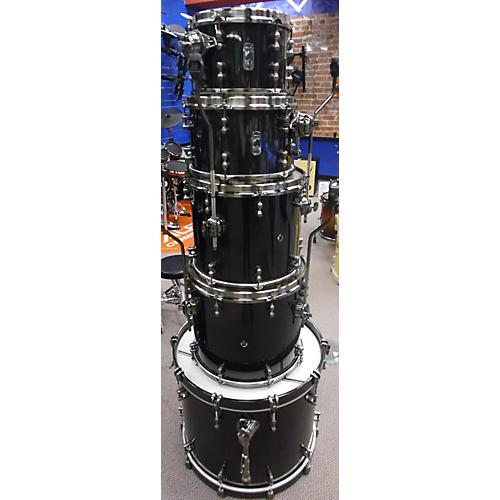 Mapex Black Panther Black Widow Drum Set Drum Kit-thumbnail