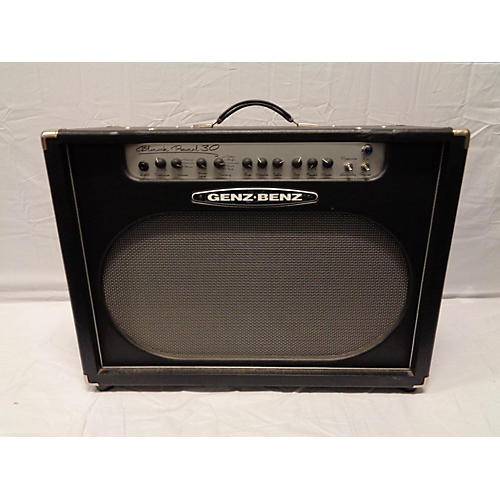 used genz benz black pearl 30 2x12 tube guitar combo amp guitar center. Black Bedroom Furniture Sets. Home Design Ideas