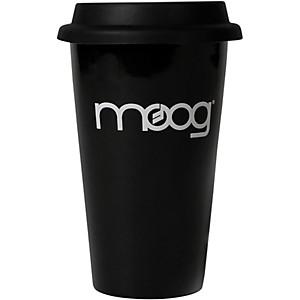Moog Black Porcelain Travel Mug by Moog