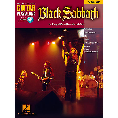 Hal Leonard Black Sabbath - Guitar Play-Along Volume 67 Book and CD-thumbnail