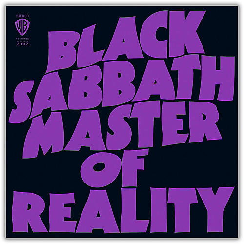 WEA Black Sabbath - Master Of Reality Deluxe Edition 2LP 180 Gram Vinyl-thumbnail
