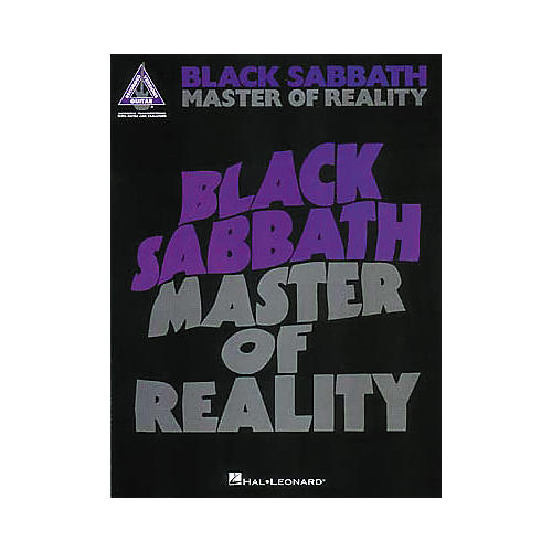 Hal Leonard Black Sabbath - Master of Reality