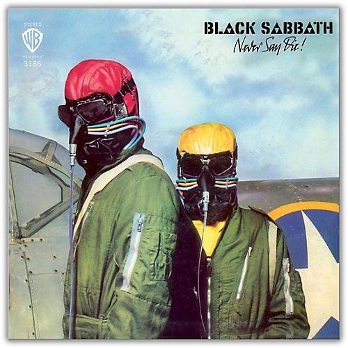 WEA Black Sabbath - Never Say Die 180 Gram Vinyl LP