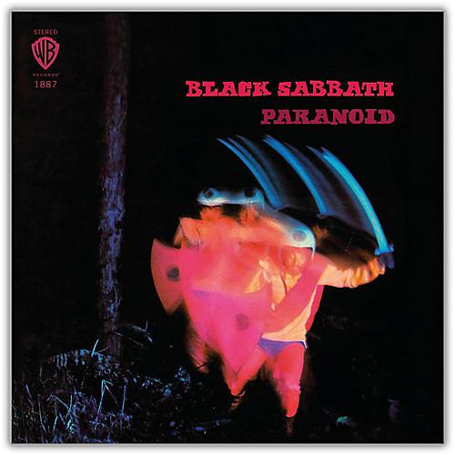 WEA Black Sabbath - Paranoid 180 Gram Blue Colored Vinyl LP-thumbnail