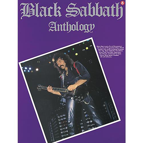 music sales black sabbath anthology guitar tab book guitar center. Black Bedroom Furniture Sets. Home Design Ideas