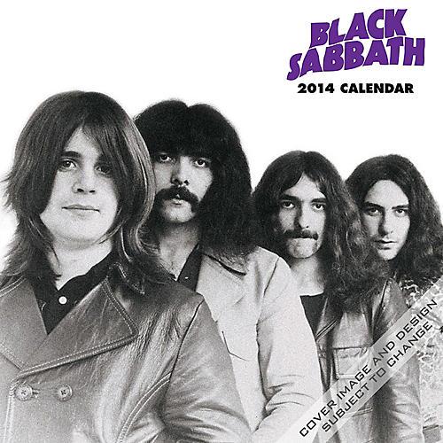 Browntrout Publishing Black Sabbath Calendar Square 12x12