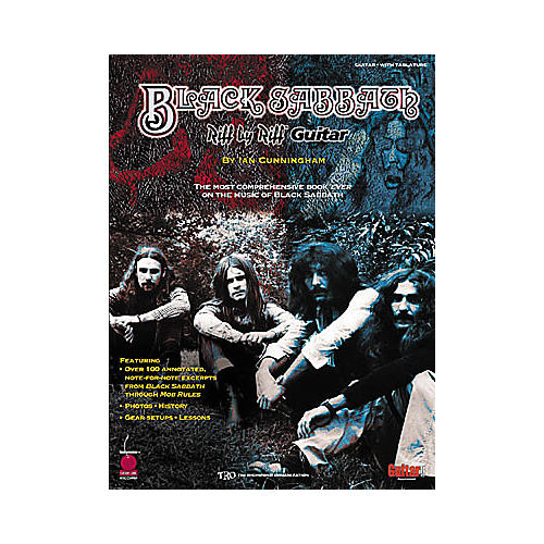 Cherry Lane Black Sabbath Riff by Riff Guitar Tab Songbook
