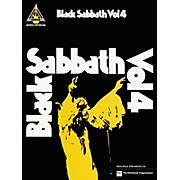 Hal Leonard Black Sabbath Vol. 4 Songbook