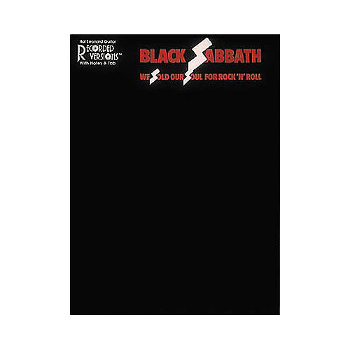 Hal Leonard Black Sabbath We Sold Our Soul for Rock 'n' Roll Guitar Tab Book-thumbnail