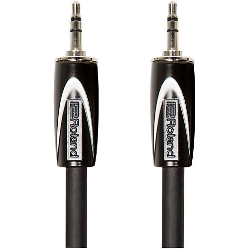 Roland Black Series 3.5mm TRS-3.5mm TRS Balanced Interconnect Cable-thumbnail