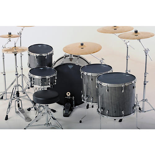 Remo Black Suede Ambassador Batter Drumhead 8 in.