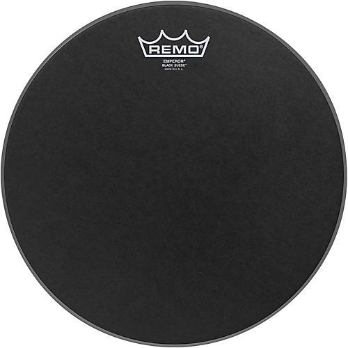 Remo Black Suede Emperor Batter Drumhead-thumbnail