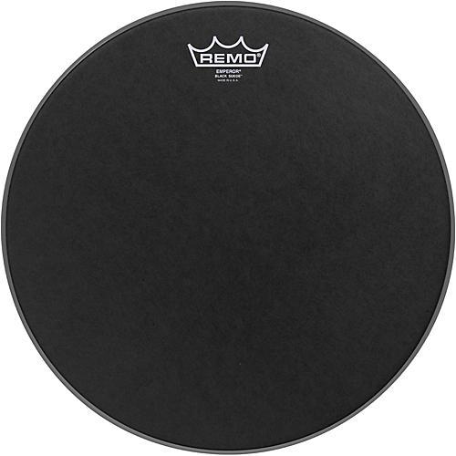 Remo Black Suede Emperor Batter Drumhead 14 in.