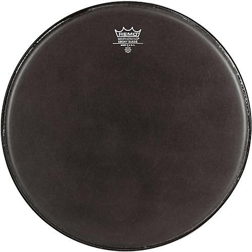 Remo Black Suede Emperor Tenor Drumhead with Crimplock Black Suede 8