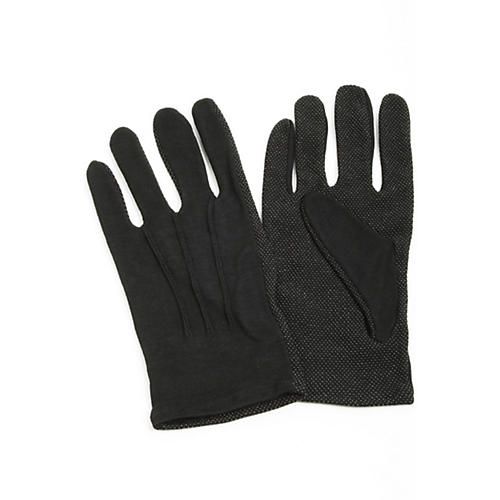 Director's Showcase Black Sure Grip Gloves