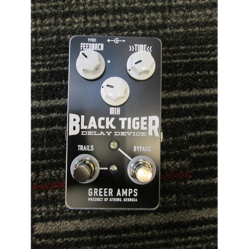 In Store Used Black Tiger Delay Effect Pedal