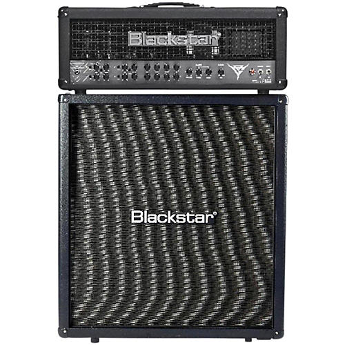 Blackstar Blackfire 200 Gus G Signature 200W Guitar Head with 412 240W 4x12 Straight Guitar Speaker Cabinet