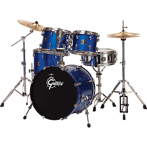 Gretsch Drums Blackhawk 5-Piece Standard Drum Set with Sabian Cymbals
