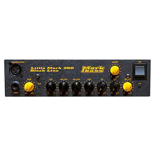 Markbass Blackline Little Mark 250 250W Bass Amp Head-thumbnail