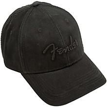 Fender Blackout Baseball Hat, Black, Onesize