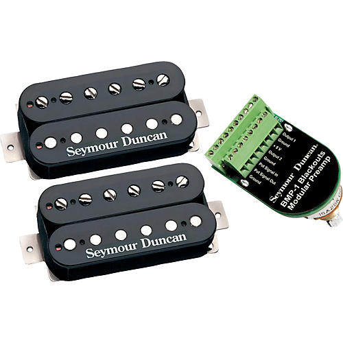 Seymour Duncan Blackouts Modular Coil Pack/Preamp Set-thumbnail