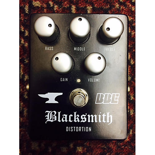 BBE Blacksmith Distortion With 3-Band EQ Black Effect Pedal