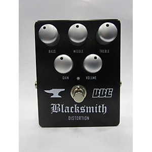 Pre-owned BBE Blacksmith Distortion with 3-Band EQ Effect Pedal by BBE