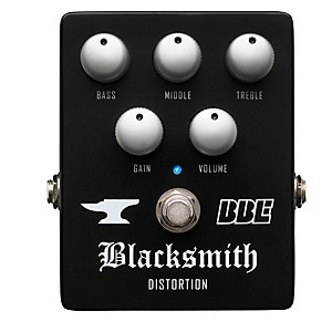BBE Blacksmith Distortion with 3-Band EQ Guitar Effects Pedal by BBE