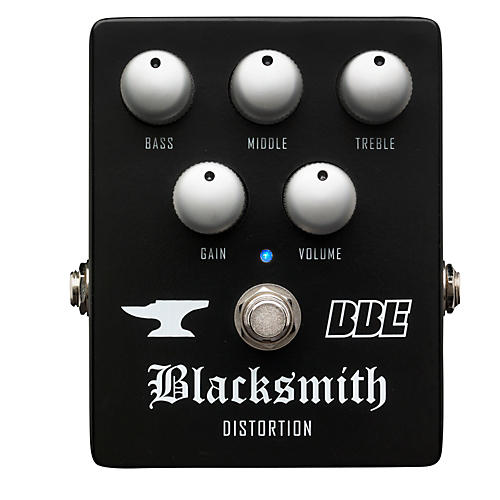 BBE Blacksmith Distortion With 3-Band EQ Guitar Effects Pedal-thumbnail