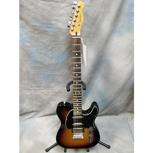 Fender Blacktop Baritone Telecaster Sunburst Solid Body Electric Guitar-thumbnail