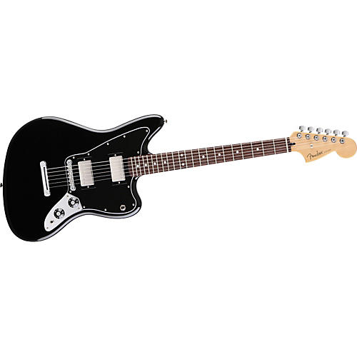 Fender Blacktop Jaguar HH Electric Guitar Black Rosewood