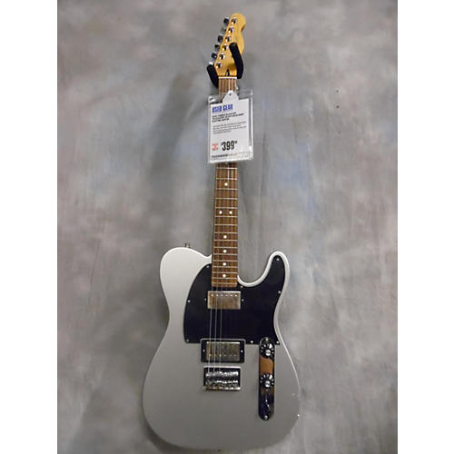 Fender Blacktop Telecaster Silver Solid Body Electric Guitar-thumbnail