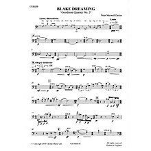 Chester Music Blake Dreaming 'Goodison Quartet No. 5' Music Sales America Series  by Peter Maxwell Davies