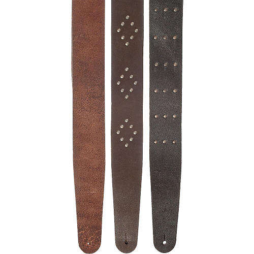 D'Addario Planet Waves Blasted Leather Guitar Strap-thumbnail
