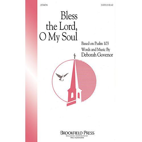Hal Leonard Bless The Lord, O My Soul (SATB) SATB composed by Deborah Govenor