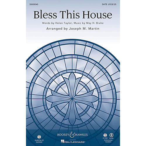 Shawnee Press Bless This House Studiotrax CD Arranged by Joseph M. Martin