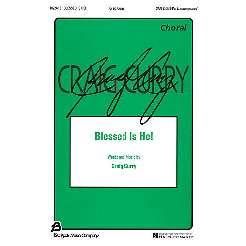 Hal Leonard Blessed Is He! 2-Part