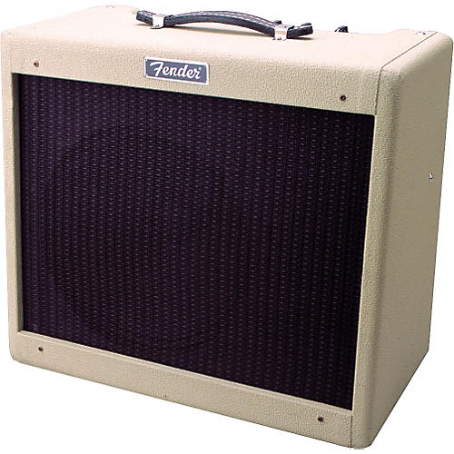 Fender Blonde Blues Jr. Guitar Amp and '50s Strat Package-thumbnail