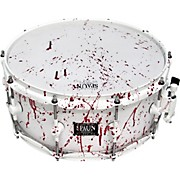 Blood Spatter Maple Snare Drum