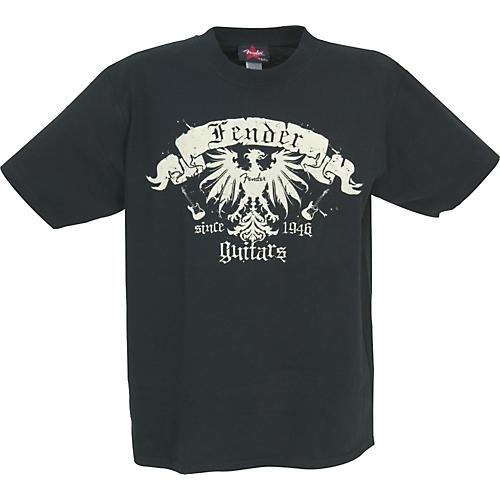 Fender Blue Bird T-Shirt Black Medium