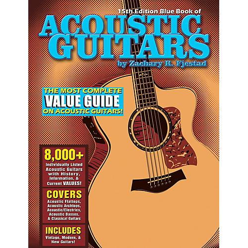 Hal Leonard Blue Book Of Acoustic Guitars - 15th Edition-thumbnail