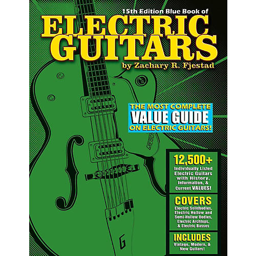 Hal Leonard Blue Book Of Electric Guitars - 15th Edition-thumbnail