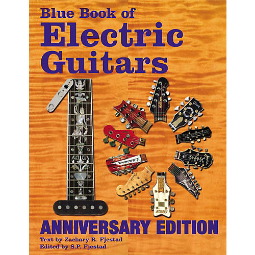 Music Sales Blue Book of Electric Guitars 10th Anniversary Edition-thumbnail