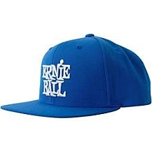 Ernie Ball Blue Cap with White Ernie Ball Logo