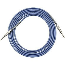 Lava Blue Demon Instrument Cable Straight to Straight