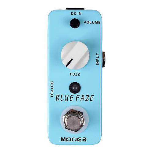 Mooer Blue Faze Vintage Fuzz Guitar Effects  Pedal