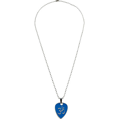 Clayton Blue Hindu Guitar Pick Necklace