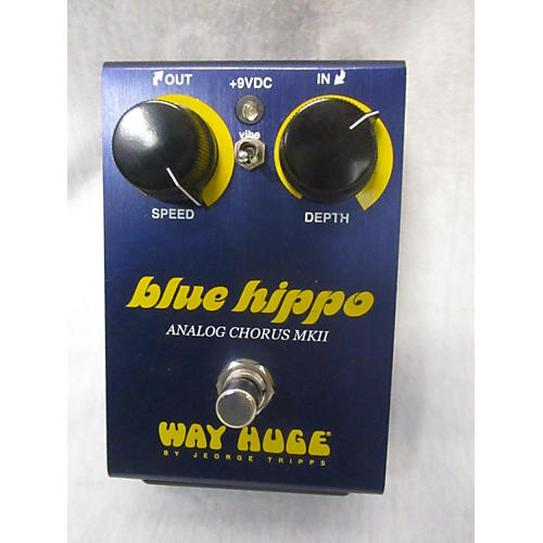 Way Huge Electronics Blue Hippo Effect Pedal