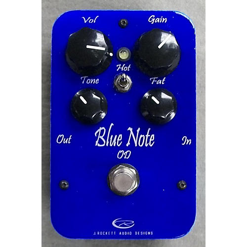 Rockett Pedals Blue Note Overdrive Effect Pedal
