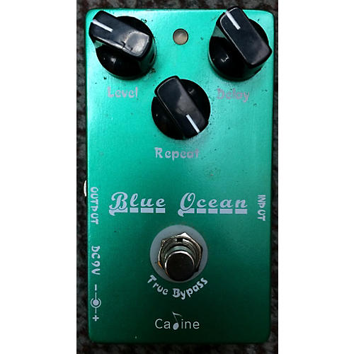 In Store Used Blue Ocean Effect Pedal-thumbnail
